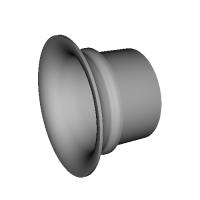 【試作型】NCP131 ヴィッツRS 純正エアクリーナーボックス用吸気ファンネル