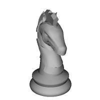 チェスの駒(ナイト)