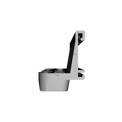 アミアミドライバーフックVESSEL用3連ブラケット ナイロン