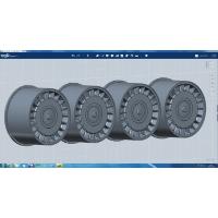 1/24Y31セドリックV30ターボプロアムVIP用純正アルミホイール4本セット