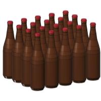 1/24スケールの大びんビール(633ml)20本セット