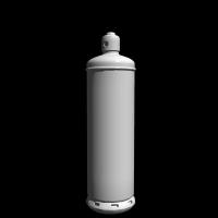 1/12スケールのプロパンガスボンベ(50kgモデル)