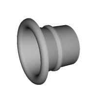 【改良型】NCP131 ヴィッツRS 純正エアクリーナーボックス用吸気ファンネル