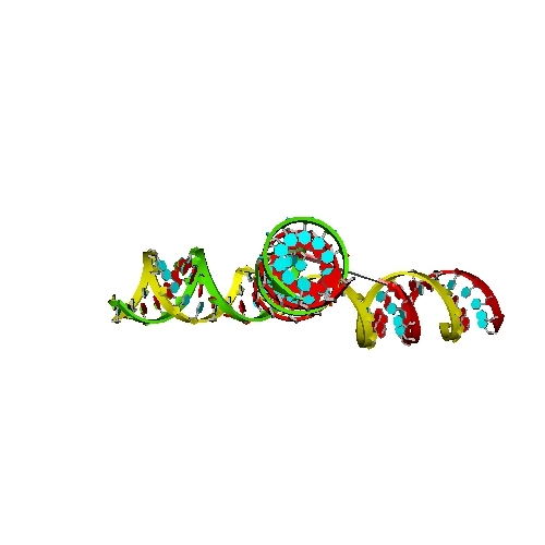 三分岐 Y字型DNA折り紙(失敗作)