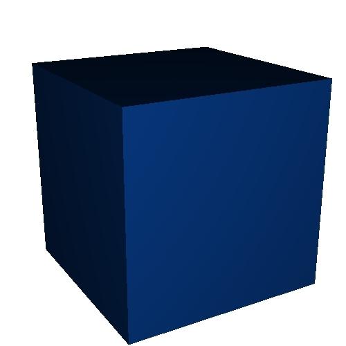 1辺が10mmの立方体