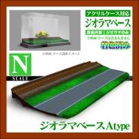 【Nゲージ】ジオラマベース基本A 着色済み 鉄道模型
