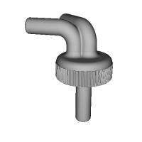 ペットボトル用オイルキャッチタンク(チューブ内径φ10、45度)