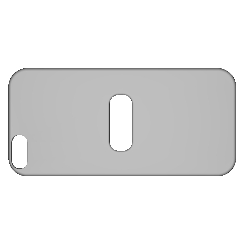 iPhone5S用 電子マネーカード収納背面パネル