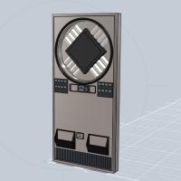 1/24スケールの自動販売機 サンヨーSVM-F408「VIVO仕様」