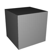 1辺が1インチ(2.54 cm)の立方体