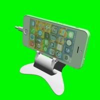 ガーデンチェアー型iPhone5スタンド