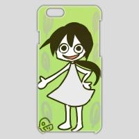 新緑の紅来ちゃん(iPhone6用)