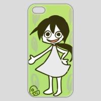 新緑の紅来ちゃん(iPhone5/5S用)