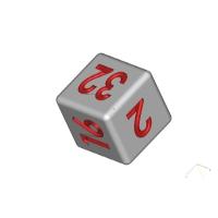 サイコロ(数字版)2・4・8・16・32・64