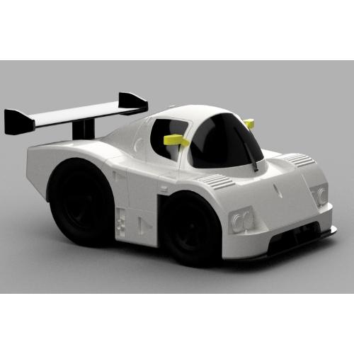 sauber c9 kit.stl