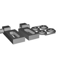 1/35 マウス用誘導輪テンション調整装置.stl