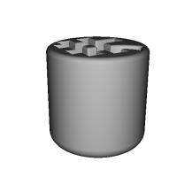 「井」のマグカップ(123D Design)ミニサイズ