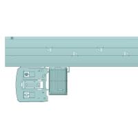 お試し版【HO】急行型気動車非冷房化キット(キハ1両分)