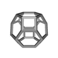 切頂八面体-レオナルドスタイル(Truncated_octahedron-Leonardo)