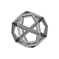 二十・十二面体-レオナルドスタイル(Icosi_dodecahedron-Leonardo)