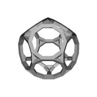 切頂十二面体-レオナルドスタイル(Truncated_dodecahedron)