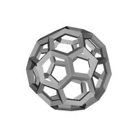 切頂二十面体-レオナルドスタイル(Truncated_icosahedron-Leonardo)