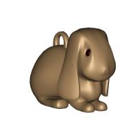 ウサギのキーホルダー