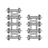 鉄道模型1/87 9mm用 3.8mm車輪-C