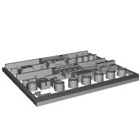 Nゲージ鉄道模型用 床下機器(電動貨車)
