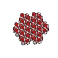 氷の結晶模型(2層:双晶)
