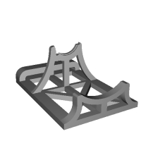 Rocket Engine Stand S size