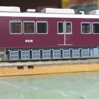 Nゲージ鉄道模型床下機器:田の字タイプ主抵抗器6両分