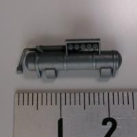 1/72スケール 四号戦車D型用マフラー(2ヶセット)