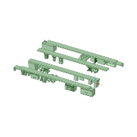 Nゲージ鉄道模型車両用床下機器 8500系用No.1