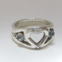 Heart Ring(16号 内径18mm)