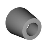 SDジオラマ用 ガンプラ アク○ズのバーニア2 LED発光可能