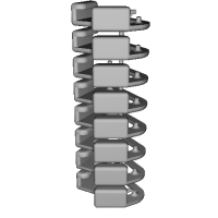 三角リング用カバー L(ベルト幅10mm)8個セット