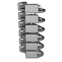 三角リング用カバー L(ベルト幅10mm)6個セット