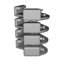 三角リング用カバー L(ベルト幅10mm)4個セット