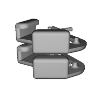 三角リング用カバー L(ベルト幅10mm)2個セット
