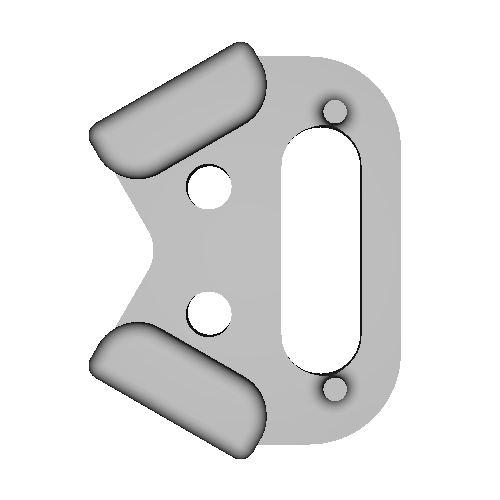 三角リング用カバー L(ベルト幅10mm)
