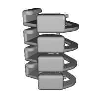 三角リング用カバー LL(ベルト幅12mm)4個セット