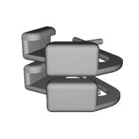 三角リング用カバー LL(ベルト幅12mm)2個セット