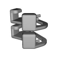 三角リング用カバー M(ベルト幅10mm)2個セット
