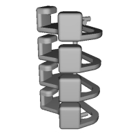 三角リング用カバー M(ベルト幅10mm)4個セット