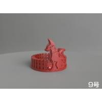 右側の狐さんリング(9号)