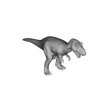 ティラノサウルス全長80mm