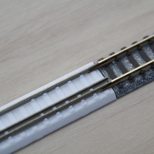 三線軌条L140mm(線路幅9mm・6.5mm)×2(T社用)