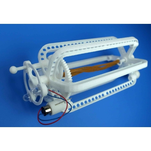 3Dプリント輪ゴム発電機  (3Dプリントパーツ部のみ)
