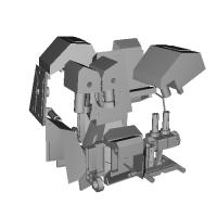 勇者ロボ風フットパーツ 2種セット(ランナー追加)